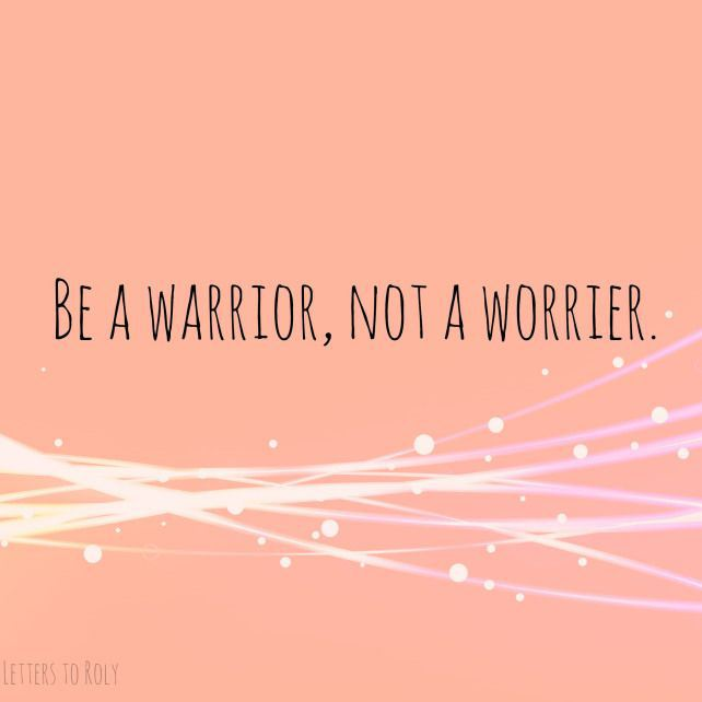 ThursdayThoughts.24.Warrior