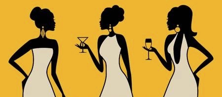 13421603-illustration-of-three-young-elegant-women-at-a-cocktail-party 2